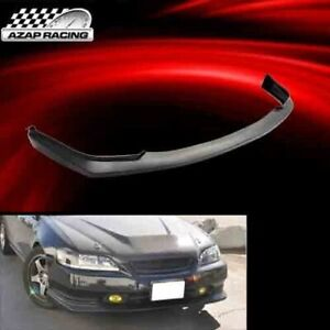 1998 00 Jdm Sports Style Pu Front Bumper Lip Spoiler Fits Honda Accord 2dr Coupe