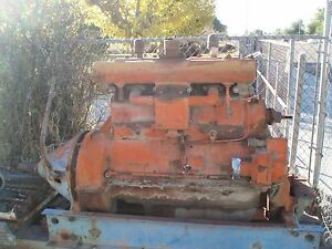 1955 Allis Chalmers A Tractor Engine