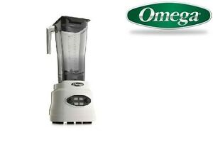 Omega 660 3hp Blender With Variable timer cyclic pulse Bl660white
