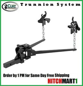 8k Trunnion Bar Bolt together Weight Distribution Trailer Hitch W Shank 17301