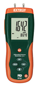 Extech Hd700 Differential Pressure Manometer 2 Psi 55 4 H2o