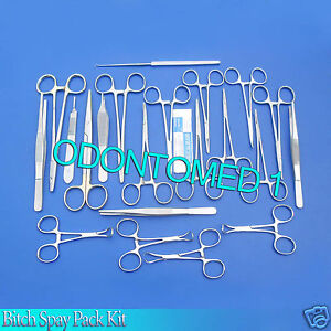 Bitch Spay Pack Kit Surgical Veterinary Instrument odm 0080