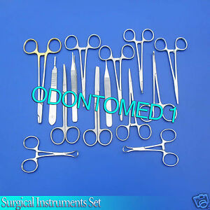 14 Instruments Suture Set Surgical Dental Veterinary Ds 821