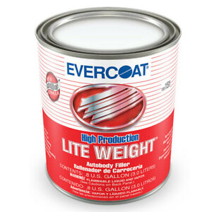 Evercoat High Production Lite Weight Plastic Body Filler 3 Liter Can 151