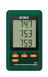Extech Sd200 3 channel Temperature Datalogger