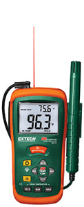 Extech Rh101 Hygro thermometer Infrared Thermometer