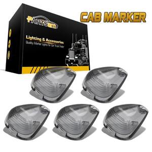 5x Smoke Cab Marker Clearance Light Lens Covers For Ford F 250 F 350 Super Duty