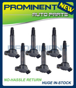 6 Ignition Coils Replacement For Camry Rav4 Avalon Lexus Rx350 Es350 3 5l Uf487