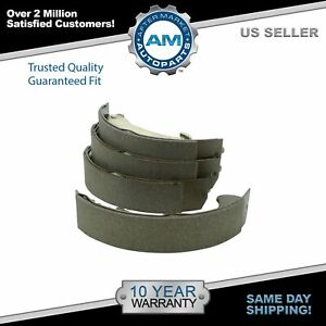 Nakamoto Rear Brake Shoe Set For Cavalier Cobalt Hhr Pontiac G5 Sunfire Ion