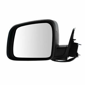 Mirror Power Heated Signal Memory Smooth Black Left Lh For 11 13 Grand Cherokee