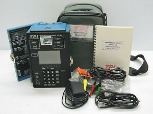 Ttc Tpi Telepath Model 650 Frame Relay Test Set W Ac Adapter Accessories