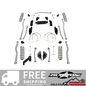 Rubicon Express 3 5 4 Link Long Arm System 07 16 Jeep Wrangler Jk 2 Door Jk4423