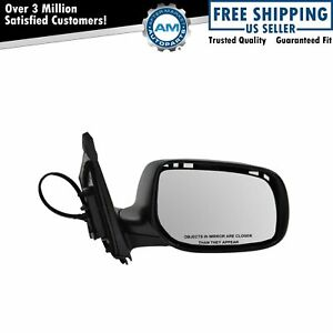 Mirror Power Heated Black Textured Passenger Right Rh For 09 13 Toyota Corolla