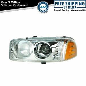 Headlight Headlamp Driver Side Lh Left For Gmc Sierra 1500 Denali Yukon