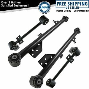 Trailing Control Arm Rear Upper Lower Kit Set Of 4 For Nissan Pathfinder Qx4