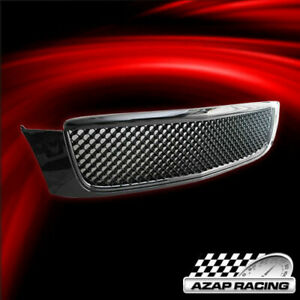 2000 2005 Black Abs Front Hood Grille Mesh Grill Fits Cadillac Deville Dhs Dts