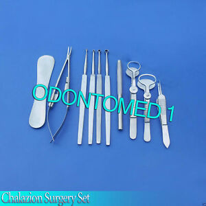 Chalazion Surgery Set Ophthalmic Surgical Instruments Ds 931