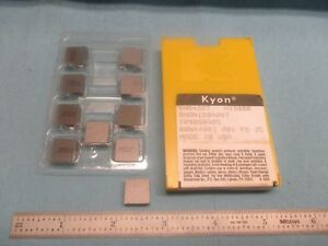 10pcs Kennametal Sng 432 T Ky 3000 Inserts 120408t Cnc Lathe Shop Tools Usa Made