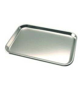 Dci Adec Style Stainless Steel Instrument Tray 9 3 4 X 13 1 2 Repl 043 001 00
