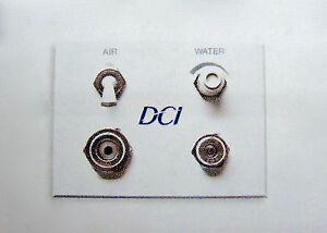 Dci Dental Air Water White Auxiliary Wall Switch Quick Disconnect Q d Panel