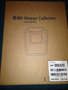 Bd Sharps Container Large Cabinet 305420