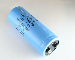 New Mallory Cgs 120000uf 10v Large Can Aluminum Electrolytic Capacitor Mfd Dc