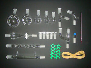 Organic Chemistry Lab Glassware Kit 24 40 lab Glassware Kit