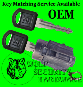 Chevy Avalanche 02 06 Oem Rear Tailgate Lock Cylinder 2 Keys Key Match Offered