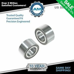 Front Wheel Hub Bearings Left Right Pair Set For 07 13 Caliber Compass Patriot