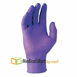 500 Disposable Powder free Latex Medical Exam Gloves Large 3 5 Mil Blue