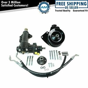 Borgeson Manual To Power Steering Conversion Kit For 68 70 Mustang 289 302 351w
