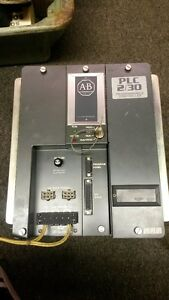 Allen Bradley Plc 2 30 Programmable Controller 1772 lp3 Series A With Keys