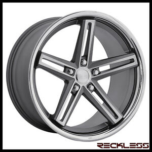 20 Concept One Cs55 Deep Concave Staggered Wheels Rims Fits Lexus Is250 Is350