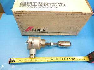 Nohken Fm 13 Level Switch Industrial Manufacturing Made In Japan Sensors