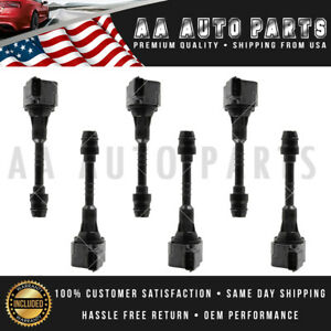 Set Of 6 Ignition Coil For Suzuki Infinity Qx4 Nissan Altima Maxima 3 5l Uf349