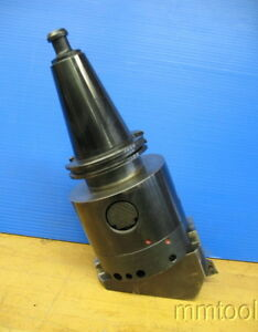 Cat 50 Shank W madison Boring Head Micro bore 5 812 8 859 Cnc Milling
