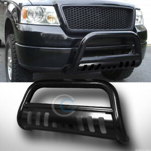 Fits 97 03 Ford F150 F250 Expedition Blk Bull Bar Brush Push Bumper Grille Guard