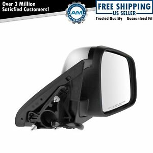 Mirror Power Heated Signal Blind Spot Chrome Right For 11 13 Grand Cherokee