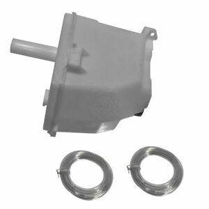 Windshield Washer Reservoir Bottle With Pump For 91 93 Nissan Nx