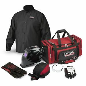 Lincoln Traditional Welding Gear Ready pak K3105 Size 2x large