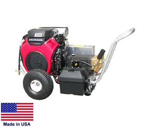 Pressure Washer Coml Portable 8 Gpm 3500 Psi Ar Pump 24 Hp Honda