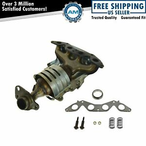 Exhaust Manifold W Catalytic Converter For 01 05 Honda Civic 1 7l L4 Sohc