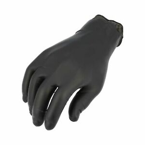 3 5 Mil Nitrile Gloves Powder Free Black Industrial Grade Size X large 1000 Pcs