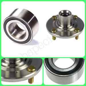 Front Wheel Hub Bearing For 1998 2002 Honda Accord 4cyl Left Or Right Set New