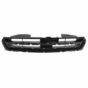 Grille Black Front W O Molding For 1994 1997 Honda Accord