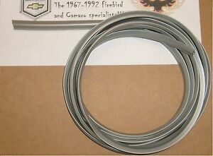 1970 1981 Trans Am Camaro Wheel Spoiler Flare Welting Trim Gasket 10 Roll