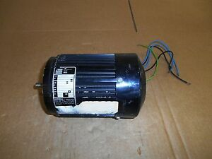 Bodine 1 6 Hp Small Motor Volts 115 Rpm 1700 3 6 Amps 60 Hz Used
