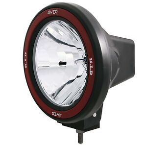 Anzo Usa 861093 Hid Off Road Light 7 In W Anzousa Red Bezel