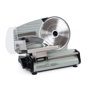 8 7 Commercial 180w Electric Meat Slicer Blade Deli Cutter Veggies Kitchen Ce