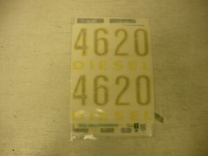 John Deere 4620 Gas Diesel Decal Set Vinyl Cut New Free Shipping
